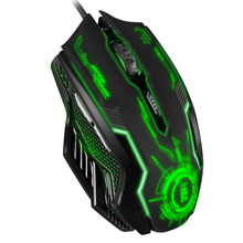 Snigir Brand USB Wired Optical LED 3200DPI  Gaming Mouse in Mice For gamer Dota 2 cs go computer PC Laptop mause gamer 921 souri
