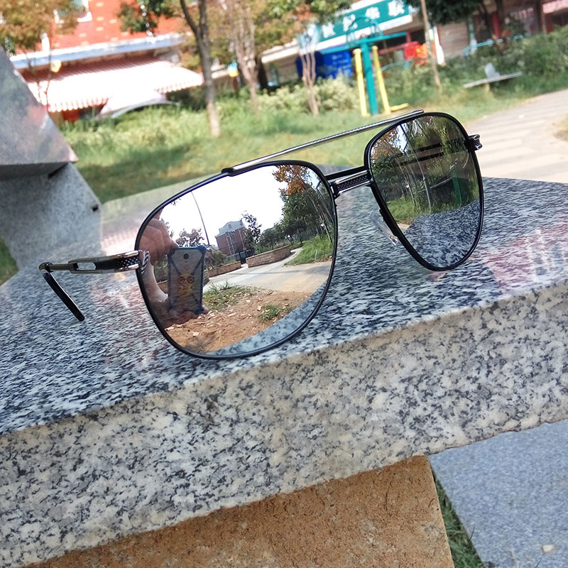 Reggaeon New Color Lenses retro mirror lady sunglasses square metal frame luxury men's designer top sunglasses UV400
