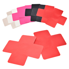 Buy 1 Pair Sexy Women Adhesive Nipple Covers Pads Cross Shape Body Breasts Instant Chest Paste Bra accessories Summer Style