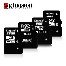 Kingston microSD Memory Card 8 GB 16 GB 32 GB Class 4 microSDHC TFcard Flash Card(SDC4 8GB/16GB/32GB)