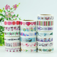 (5 pieces/lot) The Theme of Love Wahi Tape Color Paper Sticker DIY Scrapbooking Masking Tape