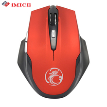 iMice Silent Ergonomic 2.4GHz Opto-electronic Wireless Mouse 6 Buttons Cordless PC Computer Gaming Mouse Mice Computer Office(China)