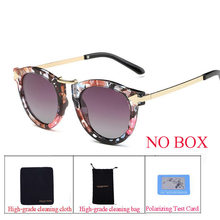 Reggaeon new stylish sexy polarized lady's eye arrow sunglasses retro driving brand design high-end trend lady sunglasses(China)