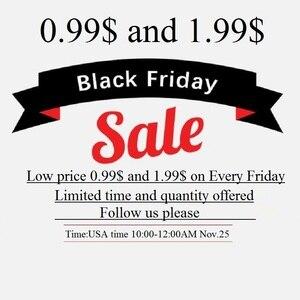 Черная пятница Распродажа: покупайте по самой низкой цене 0,99 $ и 1,99 $ в каждую пятницу ограниченное время и количество! (это не для продажи!)