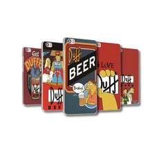 Funda covers For Xiaomi mi6 mi5 mi5c mi5s plus Redmi Note 2 3 3X 4A Pro transparent shell Duff beer cartoon design Phone case
