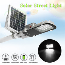 Mising 12 LED Solar Street Light 7.4V 5W Solar Powered Panel Outdoor Garden Walkway Lighting Waterproof Light Control(China)
