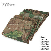 KiWarm Clear View Camo Net Hide Netting Birds Decoy Hunting Woodland Camping Military Camouflage Netting Mesh Various Size