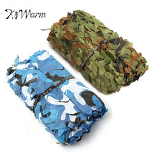 KiWarm Practical 7x2m Desert Digital Camo Net Military Camouflage Netting Games Camouflage Net Hunting Camping Hide Garden Cover(China)