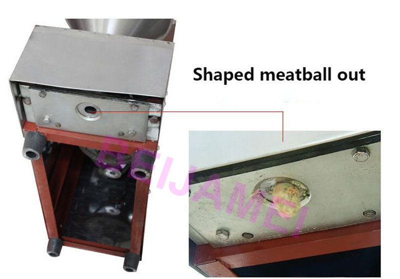 small meatball making