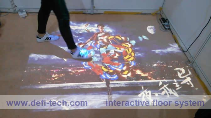 Free delivery cost of interactive floor/wall system,3D interactive projection display system(China (Mainland))