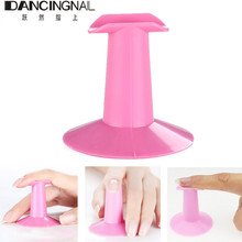 20pcs Plastic Finger Stand Display Support Rest Holder Nail Art Painting Drawing Manicure Practice Tool Salon Equipment 2017(China)