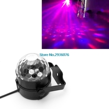 Voice Control LED Stage Strobe Light Operated DJ Disco Party Club Stroboscope Colorful Stage Light Effects US Plug