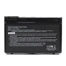 New Replacement Laptop Notebook Battery for Acer TravelMate C300 C310 2410 4400 BTP-63D1 14.8V/5200mAh 8cell(China)