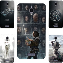 Fashion GOT Game Of Throne House Stark Lannister Targaryen Hard PC Painting Case For Lenovo S660 Cell Phone Printed Case
