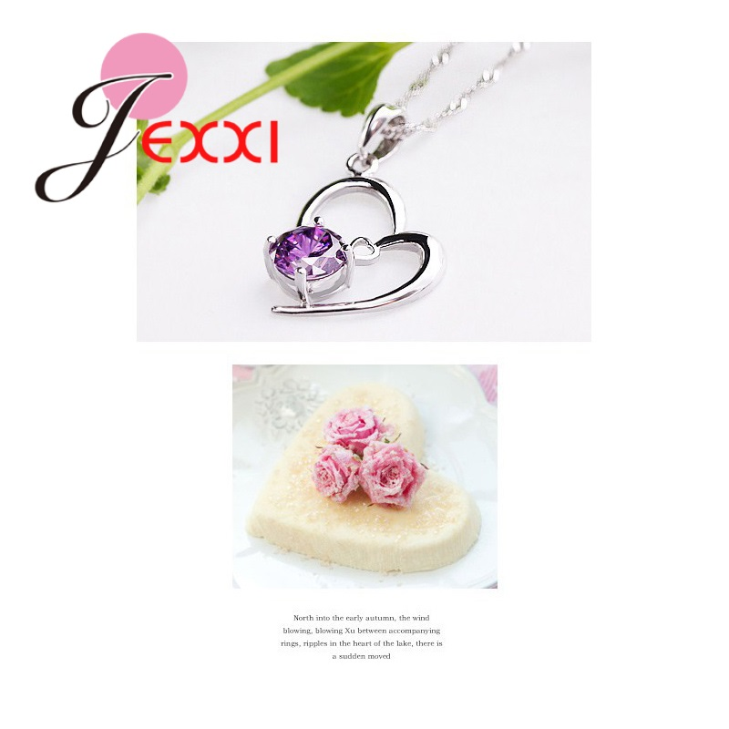 JEXXI-Trendy-Heart-Shaped-CZ-Crystal-Necklace-Pendant-Chain-Earrings-for-Women-Wedding-925-Sterling-Silver (3)