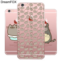 L081 Pusheen Cat Soft TPU Silicone  Case Cover For Apple iPhone X 8 7 6 6S Plus 5 5S SE 5C 4 4S