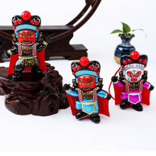 Colorful Chinese Tranditional Culture Face-changing In Sichuan Opera Doll Change Face/face Off Children Gift Baby Toys(China)