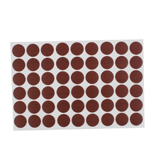 X Autohaux Furniture Desk Table Self-Adhesive Screw Hole Covers Caps Stickers Red Brown 54 In 1