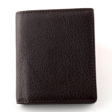 Men Wallet 100% Genuine Leather Elk pattern Vintage short Wallet  personality Purse With Zipper Coin Pocket