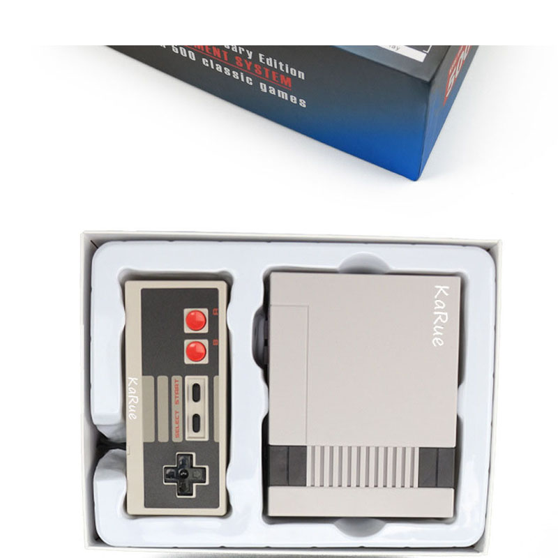 KaRue Retro  Game Player Family TV Video Game Consoles Childhood built-in 500 classic games handle control Pal Ntsc