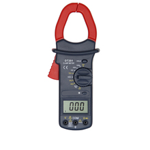 DHL Fedex 200PCS Clamp Ammeters DT201 Forcipated Multimeter Data Hold Large Jaw 1000A(China)