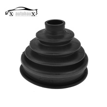 UXCELL Car Black Rubber Outer Axle Cv Joint Boot Dust Cover Protector For