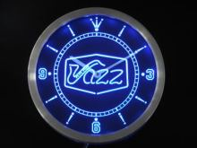 nc0321 Jazz saxophone Bar Music Live Pub Club Neon Sign LED Wall Clock(China)