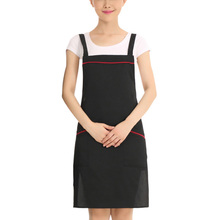 Kitchen Cooking Apron Men Women Chef Apron Pinafore Restaurant Waiter Waitress Working Clothes Sleeveless Apron
