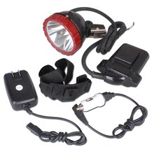 Kohree KL6.6LM AC 85V-265V Miner Mining Lighting Hunting Headlight Camping Cap Lamp, Up to 500meters,Waterproof(China)