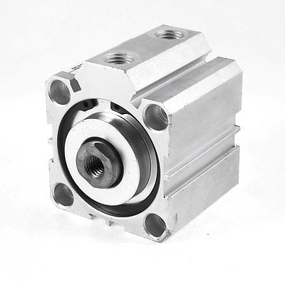 Double Action 50mm Bore 30mm Stroke Thin Air Cylinder SDA50x30<br>
