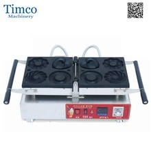 TIMCO Manual Electric 4 Type Donut Maker Machine Plum Blossom Shape Frank Donuts(China)
