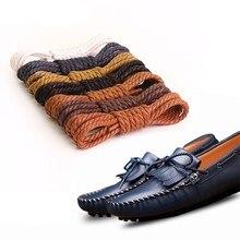 Viajes Ocio unisex zapatos de plástico Tip Shoestrings cordones 5 pares azul u93FJ