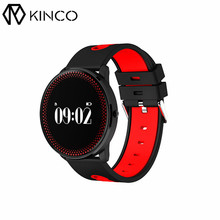KINCO Bluetooth 4 Colors Smart Bracelet Wristband Blood Oxygen Blood Pressure Heart Rate Monitor SportWaterproof Watch for Phone(China)