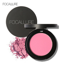FOCALLURE 11 Colors Face Blush Makeup Cosmetic Natural Baked Blusher Powder Palette Charming Cheek Color Face Make Up Blusher(China)