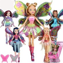 Winx Club Doll rainbow colorful girl Action Figures with Classic Toys For Girl Gift(China)