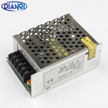 DIANQI power supply unit 35W 5V 7A power suply 35W 5V mini size din led ac dc converter ms-35-5(China)