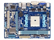 For Gigabyte GA-A55M-DS2 Original Used Desktop Motherboard A55M-DS2 A755 Socket FM1 DDR3 SATA2 USB2.0 Micro ATX(China)