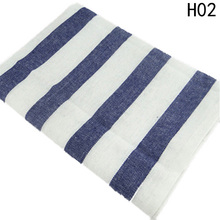 2017 Hotel Banquet table Modern Simple Style New Tablecloth  plaid striped Linen Wedding Dustproof Covers for Home Party