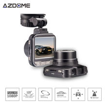 Azdome G50 Car DVR Auto Camera Novatek 96650 Chip Full HD 1080p 30fps Dash Cam 2.0'Lcd G-sensor WDR Car Video Recorder H15