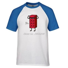 Six Pack Mail Box Casual T-shirts Men Man's raglan Sleeve Custom Men T Shirt Group Brand Clothing