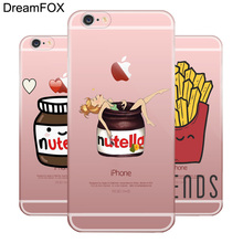 L070 Nutella Soft TPU Silicone Case Cover For Apple iPhone X 8 7 6 6S Plus 5 5S SE 5C 4 4S(China)