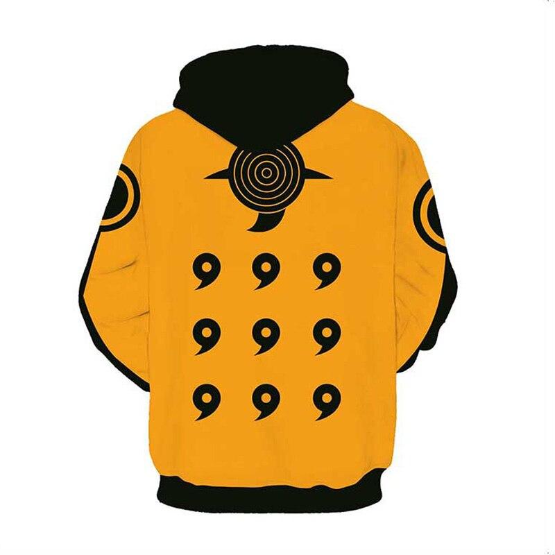 Coshome Naruto 3D Hoodies Anime Boruto Akatsuki Jacket Uchiha Itach Cosplay Costumes Kakashi Sweatshirt Men (13)