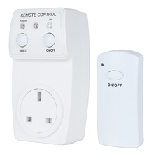 UXCELL Ac230v 10A Uk Plug Outlet Wireless Remote Control Socket Switch W Controller