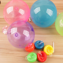 Funny Mini Tiny Bubble Balloon Toy After Inflation Outdoor Play TPR Sugar Color Bubble Ball Kids Gift(China)
