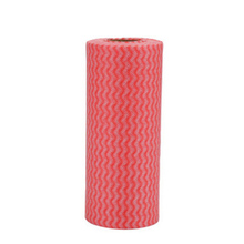 Multipurpose Disposable Breakpoint Non Woven Kitchen Towels Dish Towel Cleaning Cloth 50pcs in Roll Glasses Dish Wipes