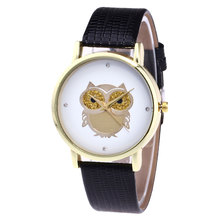 Simple Cute Owl Student Watch Girl Quartz-Watch Female Ladies Dress Watches Women Clock Hand Wrist Watches For Women(China)