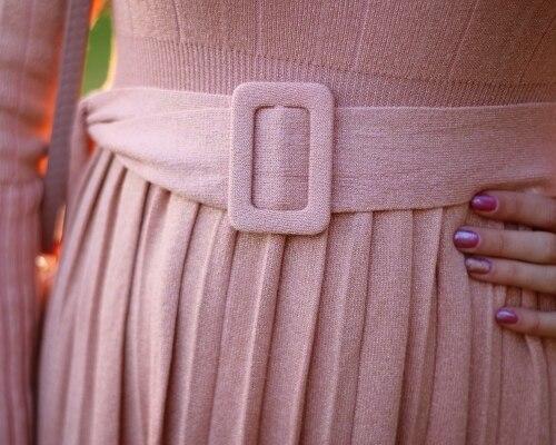 Чудесное трикотажное платье EZSSKJ - fashion