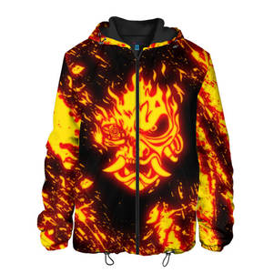 Мужская куртка 3D CYBERPUNK 2077 SAMURAI