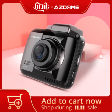 AZDOME Wifi DVR Car-Camera Park Coordinates Dashcam Dual-Lens Gps-Speed GS63H Night-Vision