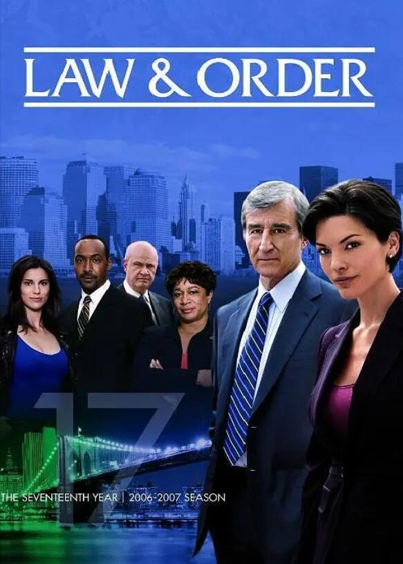 法律与秩序第十七季海报